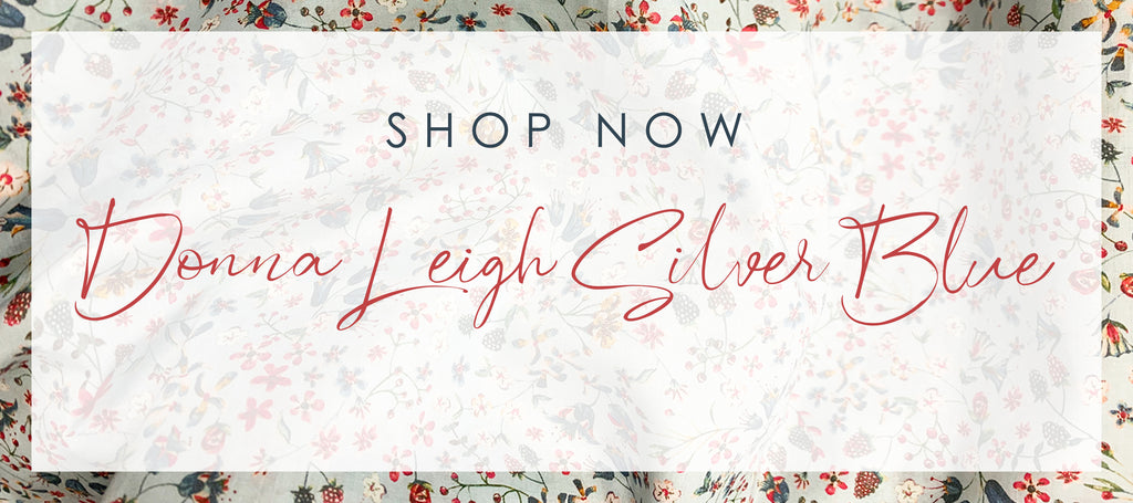 Shop our exclusive new print, Donna Leigh in Silver Grey now.