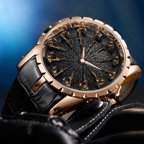 Fashion Casual Unique Quartz Watch For Men detail1