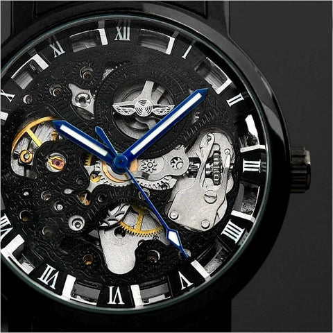 Transparent Retro Casual Watches For Men detail2