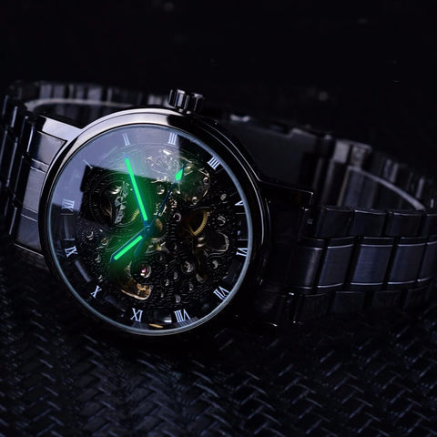 Transparent Retro Casual Watches For Men detail4