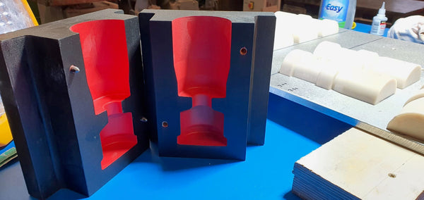 Iron-Mills Production Casting Core Box