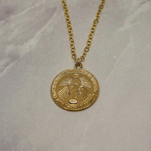 """Mary coin"" ネックレス"