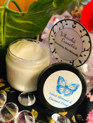 Sweet Almond and Coconut Face Cream - Whàwhá Cosmetics