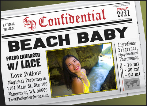 Beach Baby w/ Lace ~ Pherotine 2021 ~ Phero Enhanced Fragrance for Women