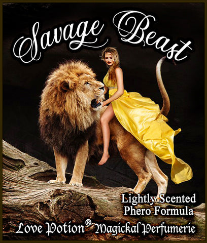 Savage Beast - Lightly Scented Full Strength Phero Blend ~ Pherotine 2020 ~ Phero Enhanced Fragrance for Everyone