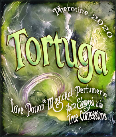 Tortuga w/ True Confessions ~ Pherotine 2020 ~ Phero Enhanced Fragrance for Everyone