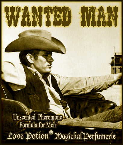 Wanted Man - UNscented Pheromone Blend