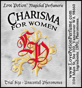 PHEROTINE! Charisma for Women ~ Pheromone Blend