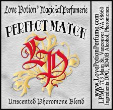 PHEROTINE! Perfect Match ~ Unisex Pheromone Blend