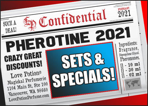Pherotine 2021 Collection - Sets & Specials!