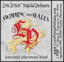 PHEROTINE! Swimming with Sharks ~ Unisex Pheromone Blend for Work