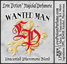PHEROTINE! Wanted Man for Men ~ Pheromone Blend