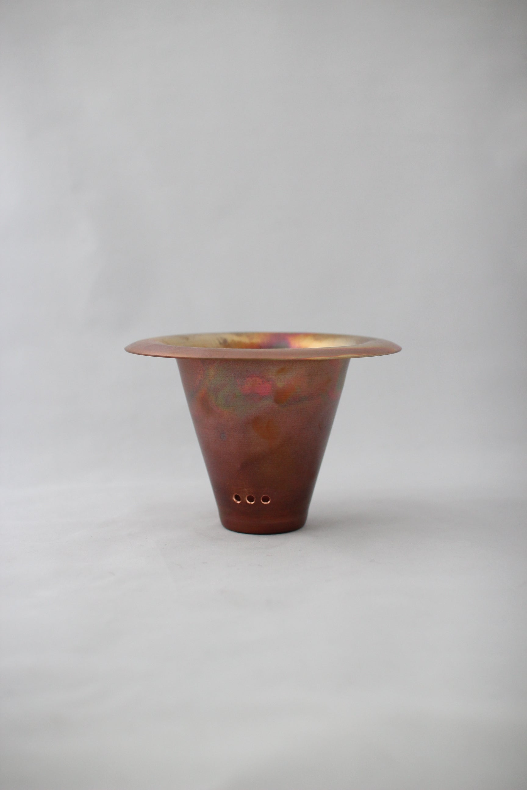 copper pot TYPE #3〈metalic〉