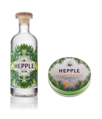 BUNDLE: Hepple Gin + Douglas Fir Sherbet -