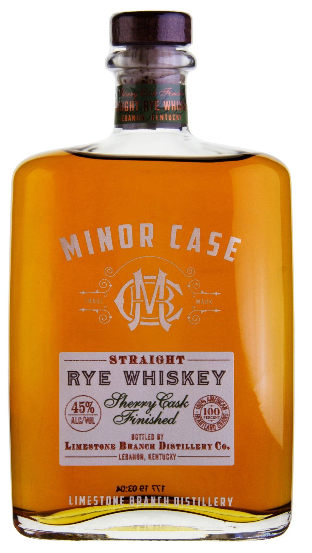 MINOR CASE Straight Rye Sherry Cask Finished Whiskey Trinkabenteuer GmbH