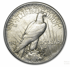 Silver Peace $1 Circulated