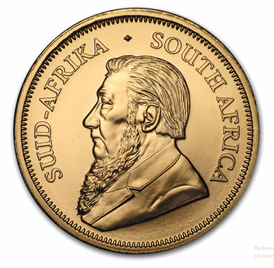 Gold South African Krugerrand 1-oz