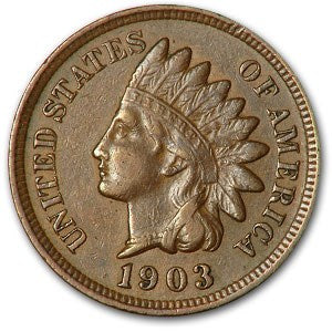 Indian Head Cent 1859-1909 Circ