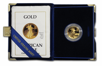 Gold American Eagle Proof 1/4-oz
