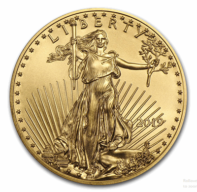 Gold American Eagle 1/2-oz