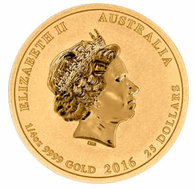 Gold Australian War in the Pacific 1/10-oz