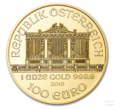 Gold Austrian Philharmonic 1-oz