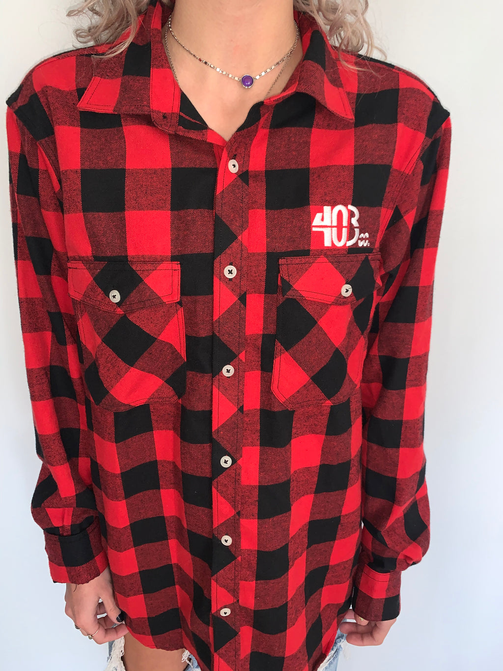 Red Lumberjack Flannel