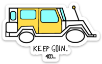 "403 ""keep Goin"" sticker"