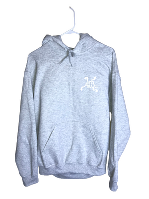 Grey Split Night and Day Hoodie