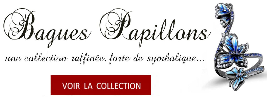Collection de Bagues Papillons