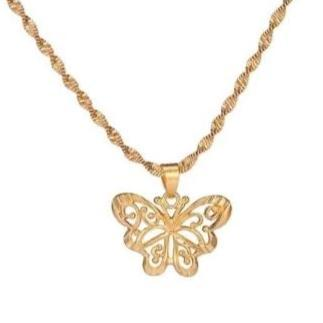Collier Papillon Or Mignon - Rêve de Papillon