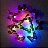 Stickers Papillon Noël à LED Changeante - Rêve de Papillon