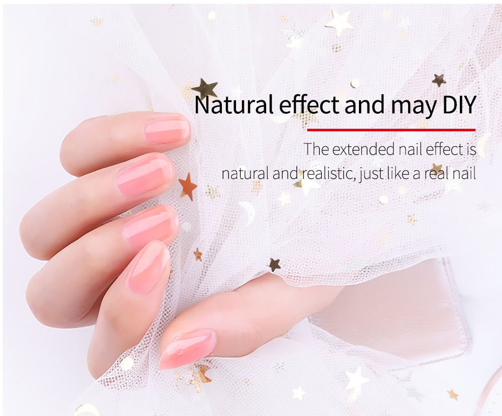 Nail extension silk fiberglass (30pcs)