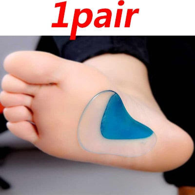 Cushioned Orthotic Arch Support Pads