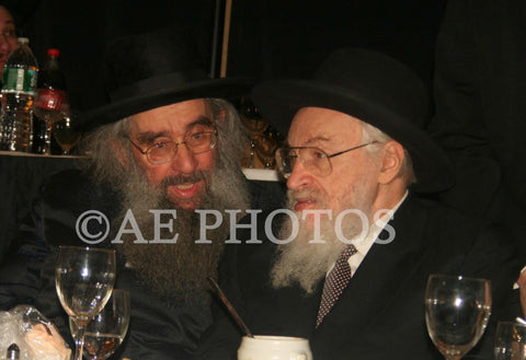 R'Aharon Dovid Dunner with R'Belsky