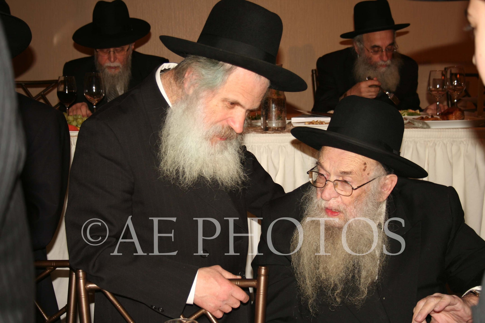 R'Dovid Schustel with R'Chaim Epstien