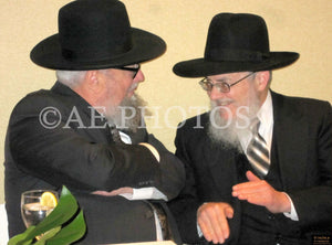 R'Murry Maslaton with R'Hillel Haber