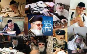 Rav Ovadia Yosef collage