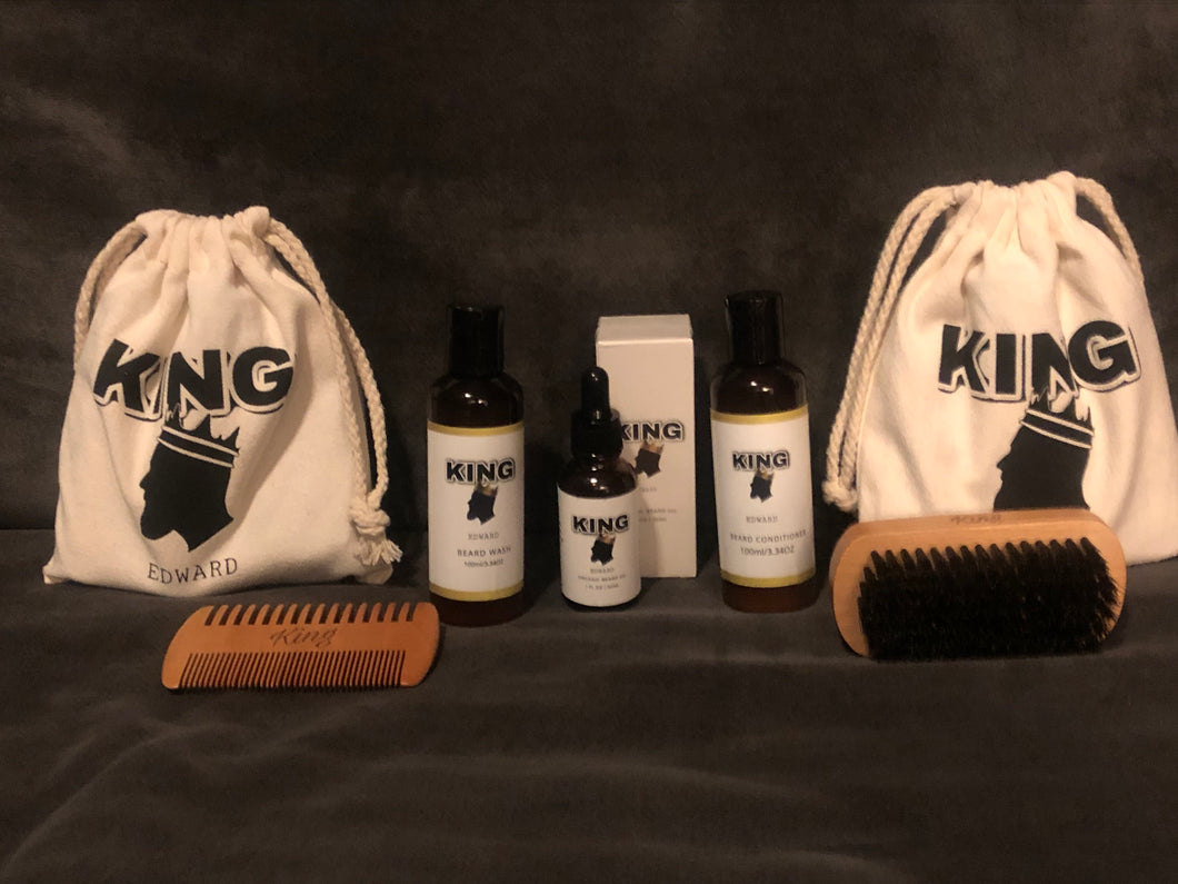 King Edward's Beard Grooming Kit