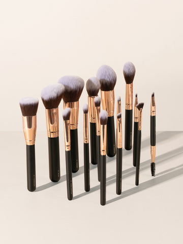 The Onyx 2.0 (15 pcs Face & Eye Brush Set)
