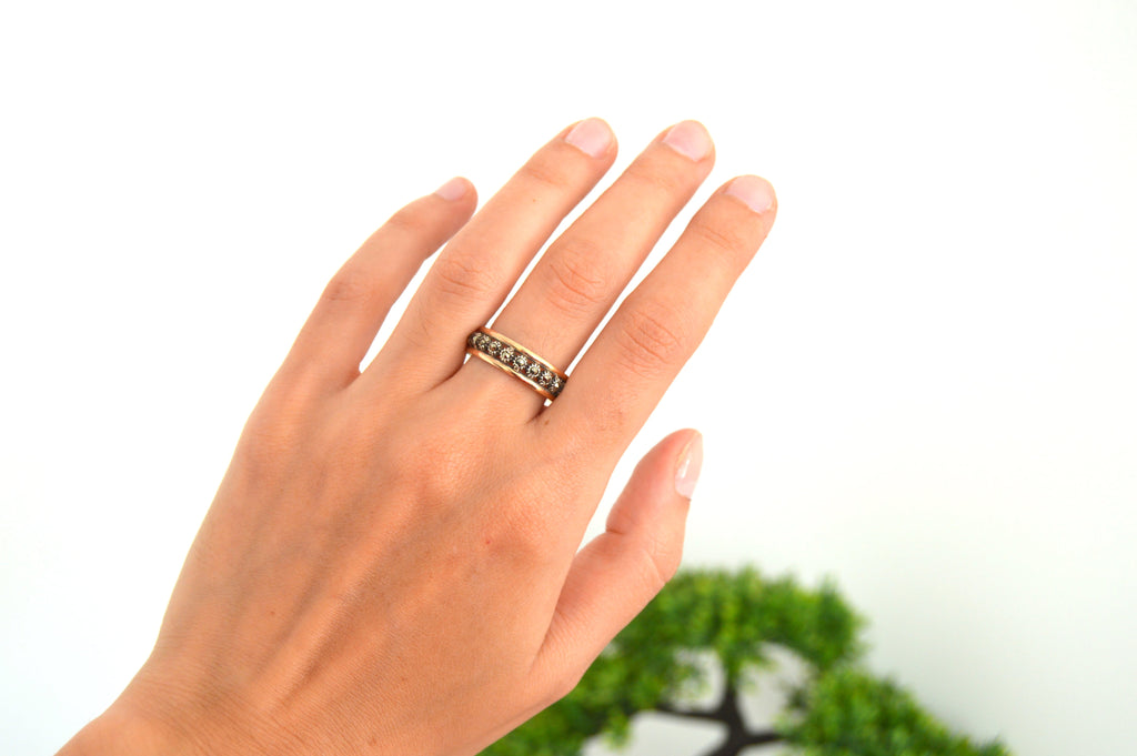 Marcasite Ring | Sterling Silver | Handmade in Portugal