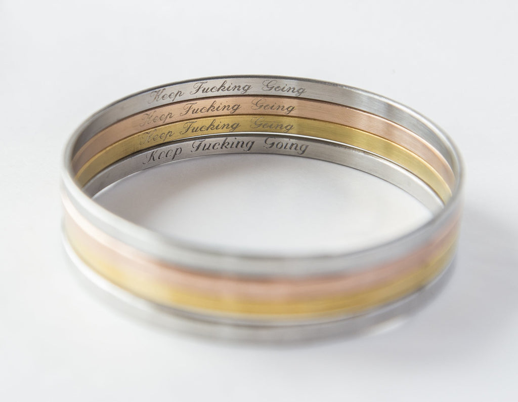 Hidden Message Customizable Bracelet - Studio Cosmica