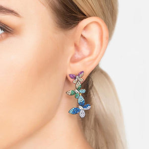 New in! Premium Rainbow Butterfly Earrings - Studio Cosmica