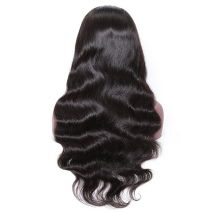 EveryWomanHair Pre Plucked Virgin Hair Body Wave HD Lace Front Wigs 150% And 180% Density Online For Sale