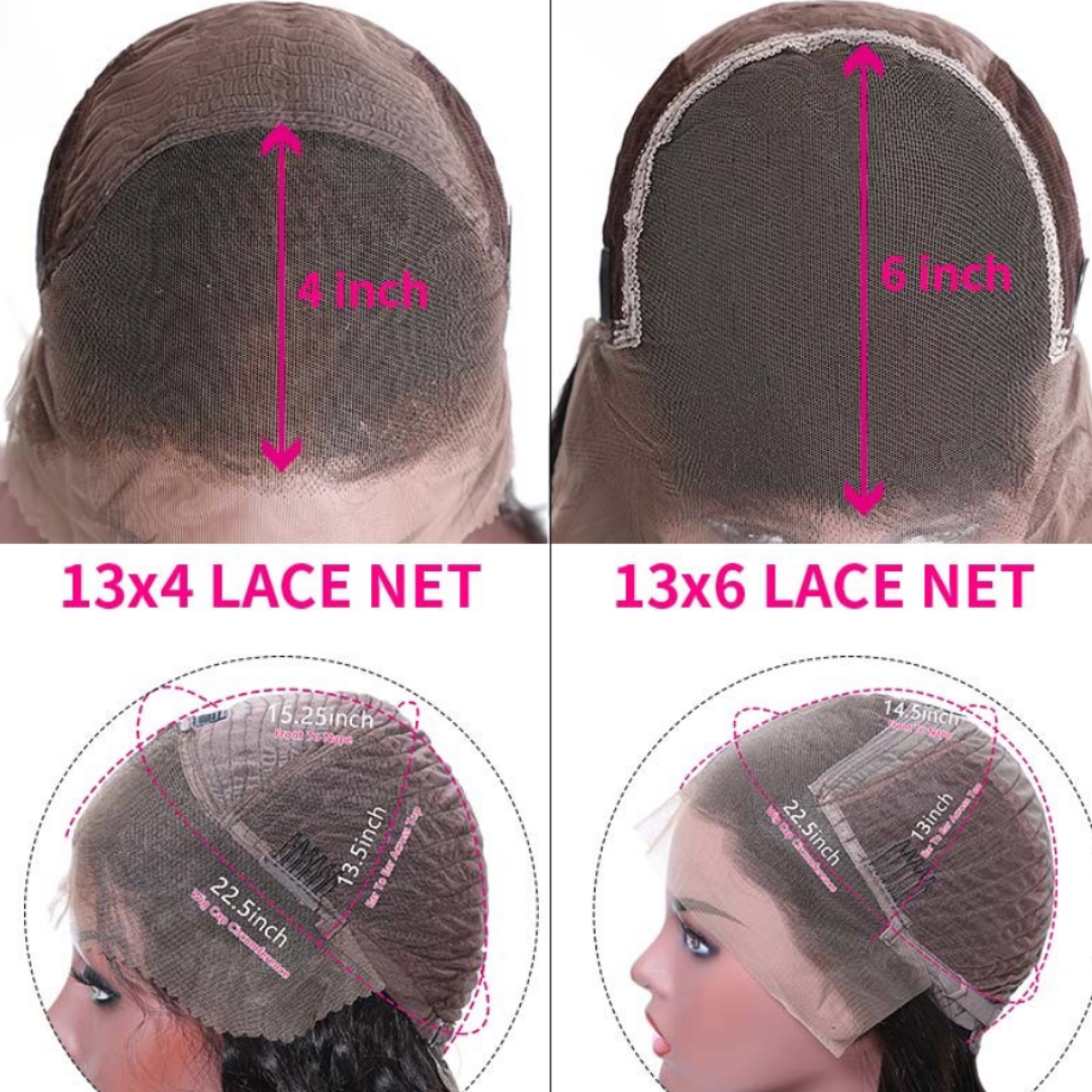 EveryWomanHair Straight HD Lace Wigs 13*6 and 13*4 Natural Hairline Lace Front Wigs Human Hair
