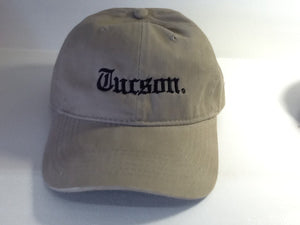 OE Tucson Dad Hat (Khaki/Black)