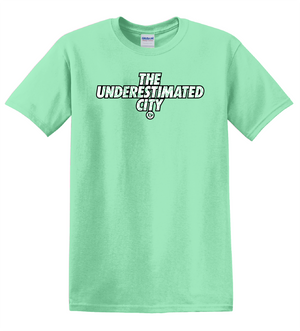 The Underestimated City Tee (Mint Green)