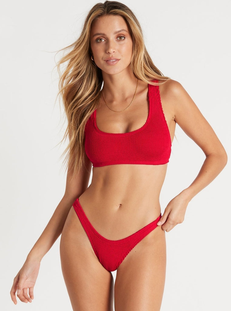Malibu Top in Baywatch Red by BOUND