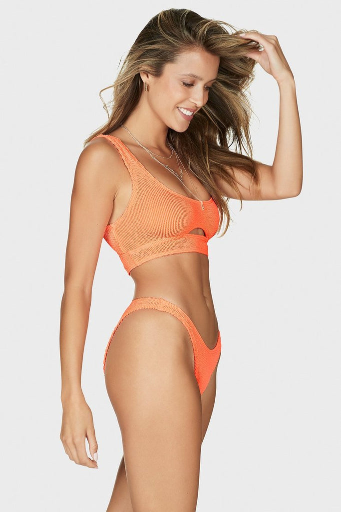 Sasha Top in Neon Orange by BOUND