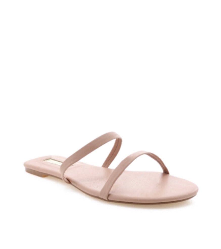 Paige Sandal in Blush by BILLINI